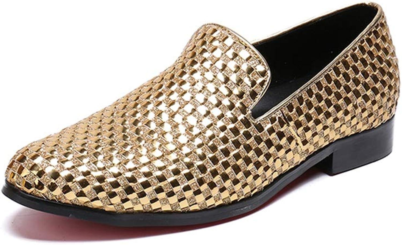 Rui Landade Landade Landade Oxford för mansformella skor glider på stil, äkta läder, lyxig imitation av guld.  bästa rykte