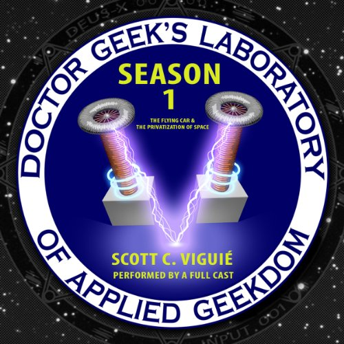 Doctor Geek's Laboratory, Season 1 copertina