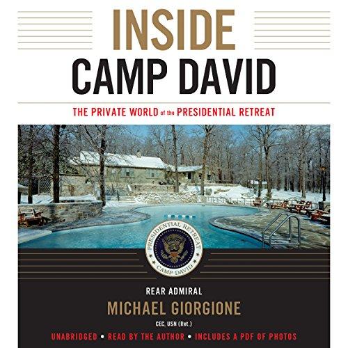 Inside Camp David audiobook cover art