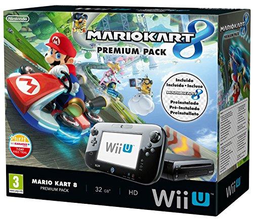 Nintendo Wii U 32GB Mario Kart 8 Premium Pack (with EU Power Adapter)