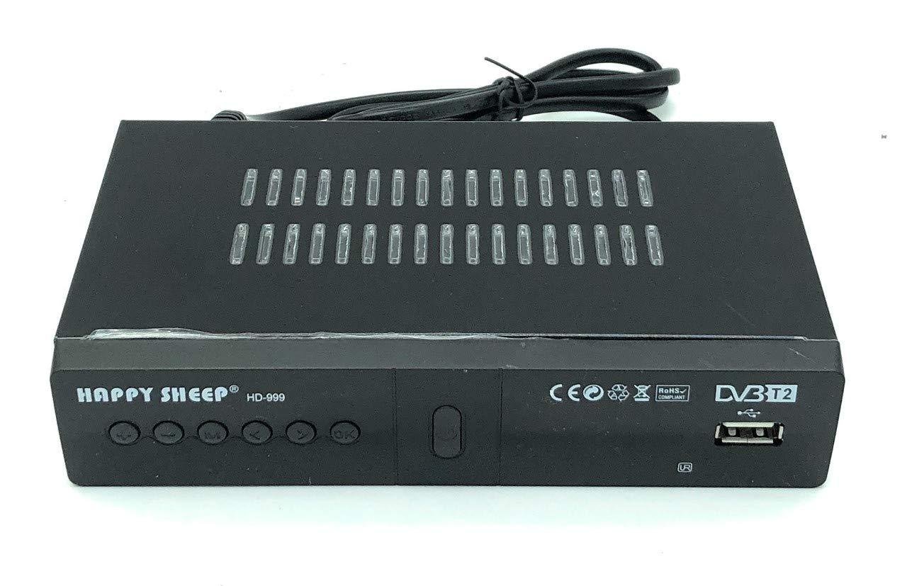 Elettrico-Store - Decodificador/Receptor para Televisión Digital Terrestre HD-999/DVB-T2: Amazon.es: Electrónica