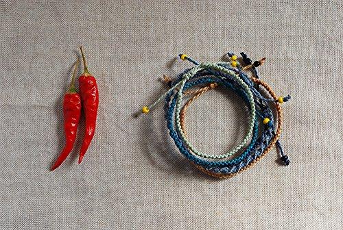 Set of 5 friendship bracelet - Macramé Bracelet - Handmade jewelry