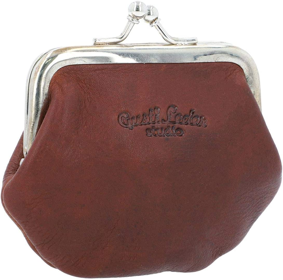 Gusti Genuine Free Shipping Wallets Leather with clip Pur change closure click Max 67% OFF