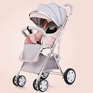 Barnvagn, Buggy, Baby Prams-Convertible Lightwight Carriage Compact Single Barnvagn, Toddler Baby sittvagn Luxury Pushchai...