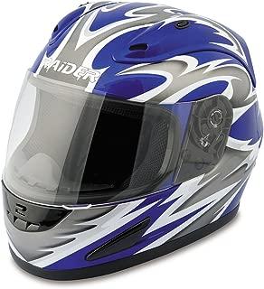 Raider Full Face Helmet (Blue, XX-Large)