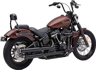 Cobra 18-19 Harley FXBB NH Series Slip-On Exhaust (Black / 3