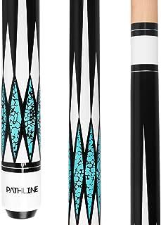 Pathline Pool Cue Stick - 58 inch Canadian Maple Professional Billiard Pool Stick (4 Colors, 18oz, 19oz, 20oz, 21oz)