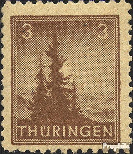 Soviétique Zone (All.OCC.) 92A b t testés 1945 Thubaguee (Timbres pour Les collectionneurs)
