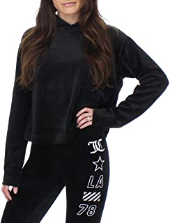Juicy Couture Women's Velour Hooded Pullover