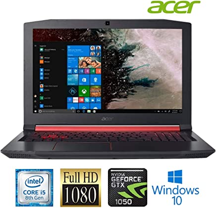 Acer Nitro 5 AN515 Laptop: Core i5-8300H, 15.6inch Full HD IPS Display, 8GB RAM, 1TB HDD, NVidia GTX 1050 4GB Graphics