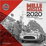 Mille Miglia. I vincitori del dopoguerra-Post-war winners. Calendario 2020