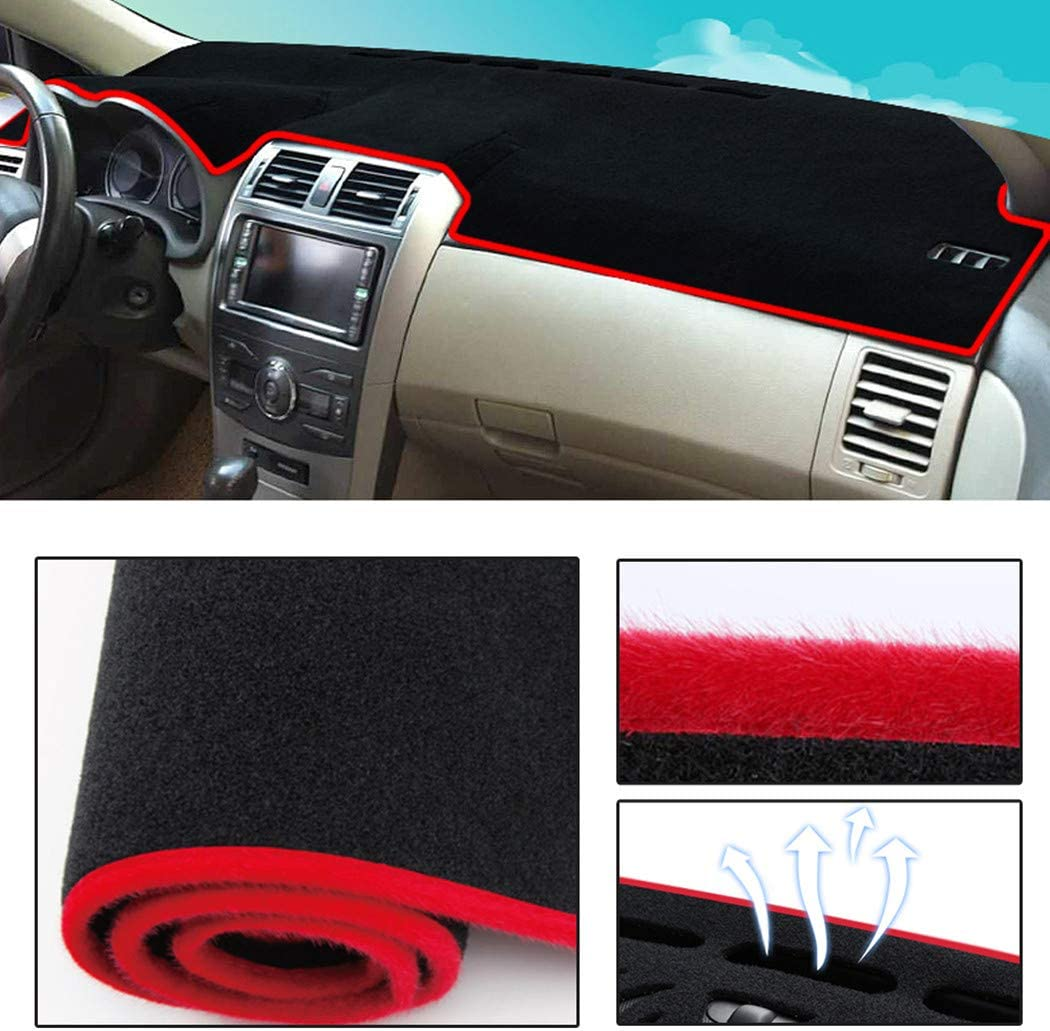 Dashboard Cover Dash New mail order Mat Pad Custom Denver Mall for Jeep Compass 2 Fit