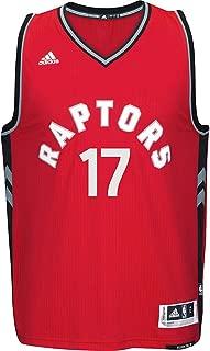 Jose Valanciunas Toranto Raptors #17 NBA Youth Red Swingman Road Jersey