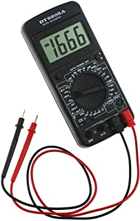 Phylli Caso multímetro DT-9205A Digital AC DC LCD Profesional Handheld eléctrico probador del multímetro