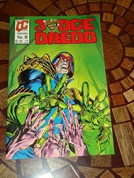 Comic Judge Dredd, No. 10, Sept. 1987 Book