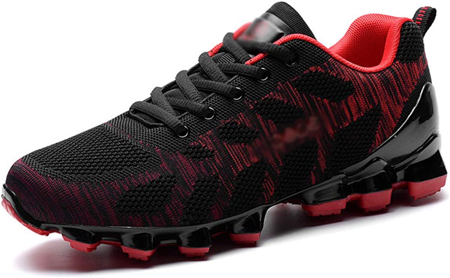 Sports shoes Men's shoes Trend Student shoes Running shoes Soft Comfortable Flying Weaving Breathable Walking shoes Men's shoes