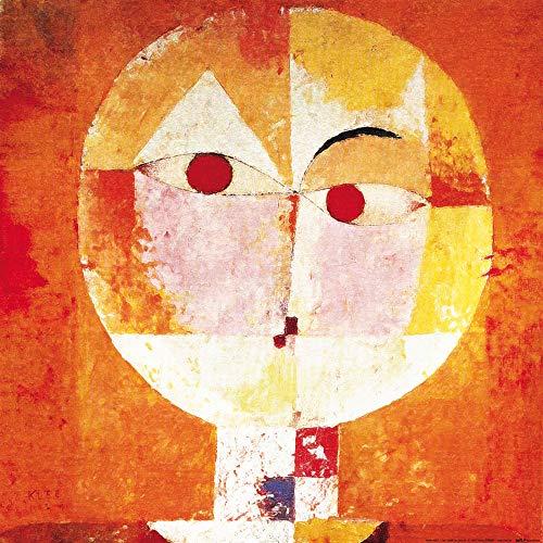 1art1 Paul Klee - Senecio, 1922 Poster Kunstdruck 40 x 40 cm