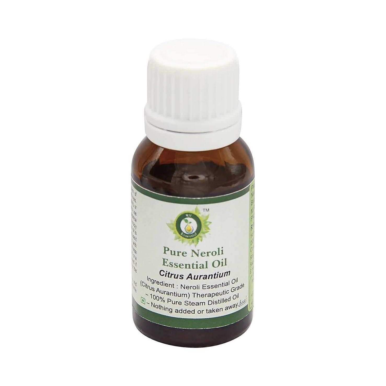 フルーツ野菜ソース添付R V Essential ピュアネロリエッセンシャルオイル15ml (0.507oz)- Citrus Aurantium (100%純粋&天然スチームDistilled) Pure Neroli Essential Oil