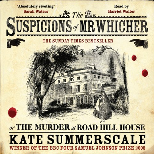 The Suspicions of Mr Whicher audiobook cover art