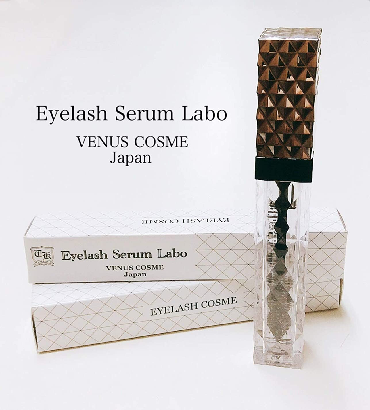 見通し制約インストラクターVENUS COSME Eyelash Seramu Labo アイラッシュセラムラボ 5ml