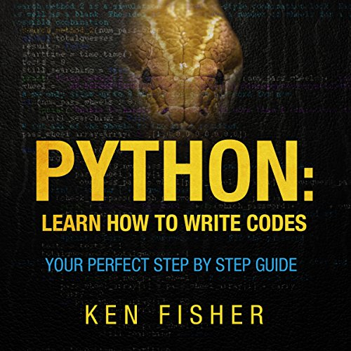 Python: Learn How to Write Codes audiobook cover art