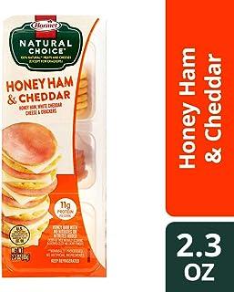 Hormel Natural Choice Honey Ham & White Cheddar With Crackers, 2.3 Oz