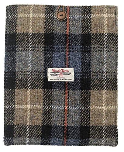 Harris Tweed Schutzhülle für iPad, mit Schottenkaro, gepolstert