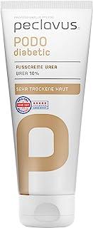 Peclavus Sensitive Fußcreme Urea 10%, Fußpflege, sofortige Hilfe bei trockener Haut, 100 ml