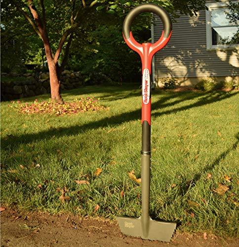 Radius Garden 22611 Root Slayer Edger, Root Slayer Edger, Red