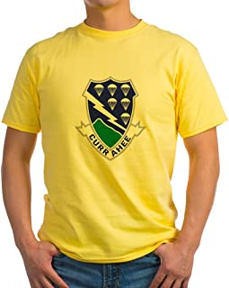 CafePress Army-506Th-Infantry-Currahee 100% Cotton T-Shirt Yellow