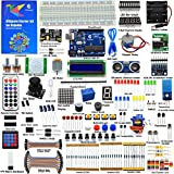 Adeept Ultimate Starter Kit compatible para Arduino UNO R3, LCD1602,...