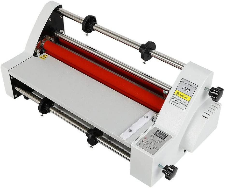 Max 71% OFF Eapmic Laminator Machine V350 13inch Cold New item Hot Laminating Roll M