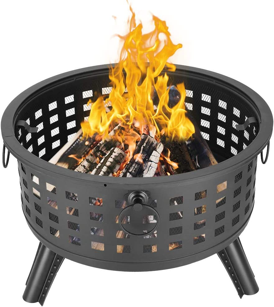 Portable Outdoor Fireplace Fire Pit Bowl Backyard Wholesale for Ring Patio Under blast sales