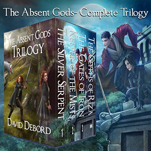 The Absent Gods Trilogy audiobook cover art
