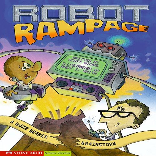 Robot Rampage audiobook cover art