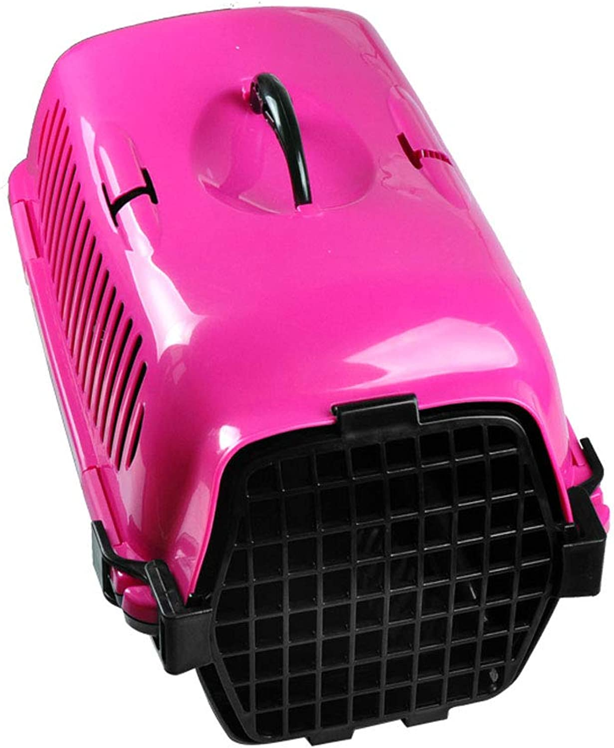 FJH Pet Air Box Out of The Box Air Transport Consignment Box Suitcase Portable Out Transport Cat Cage (color   B)