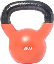 Vinyl Dipping Kettlebell - 8 kg, Orange