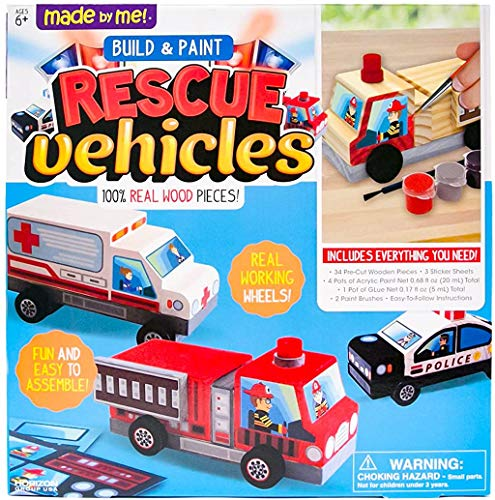 Made By Me Rescue VEHICLES by Horizon Group Usa