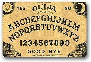 Hi,Doormat ation Doormats Personalize with Ouija Board Doormat 23.6 x 15.7 Inch Bathroom Kitchen Decor Area Rug/Floor Mat 23.6 X 15.7 Inch
