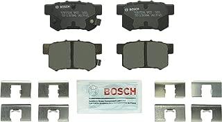 Bosch BP537 QuietCast Premium Disc Brake Pad Set For: Acura CL, CSX, ILX, Legend, RSX, TL, TSX, Vigor; Honda Accord, Civic, CR-Z, Prelude, S2000; Suzuki Kizashi, SX4, Rear