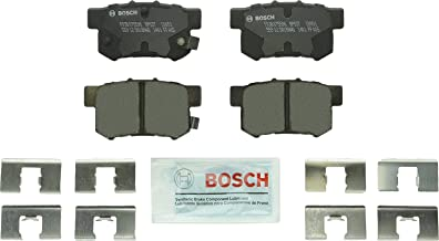 Bosch BP537 QuietCast Premium Disc Brake Pad Set For: Acura CL, CSX, ILX, Legend, RSX, TL, TSX, Vigor; Honda Accord, Civic, CR-Z, Prelude, S2000; Suzuki Kizashi, SX4, Rear