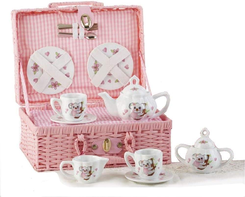 Delton Product Porcelain Tea Set Koala Kitchenware Don't Ranking TOP13 miss the campaign in Basket