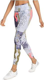 سروال ضيق بخصر مرتفع مطبوع عليه صورة كتل زهرية للسيدات من Calvin Klein