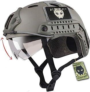 Emerson Casco rápido táctico de Paintball del ejército Militar Tipo PJ con Gafas FG