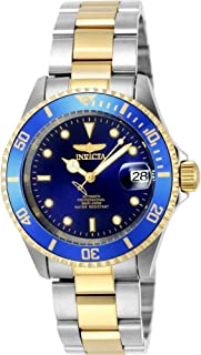 "Invicta Men's 8928OB""Pro Diver"" 23k Gold Plating and Stainless Steel Two-Tone Automatic Watch"