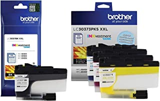 Brother Genuine LC3037BK, LC3037C, LC3037M, LC3037Y Super High-Yield Black/Cyan/Magenta/Yellow INKvestment Tank Ink Cartri...