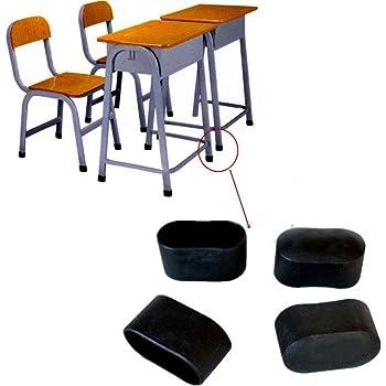 Top Prix 4 Pieces Bouchon Pied De Chaise Goelette De Pied De Chaise Protection De Sol 30 X 15 Mm Noir Plastique Amazon Fr Bricolage