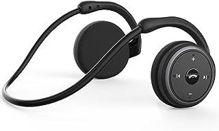 LEVIN Bluetooth イヤホン4.2[メーカー2年保証]圧迫感なしスポーツ防汗耳掛け式12時間再生通話可能Marathon