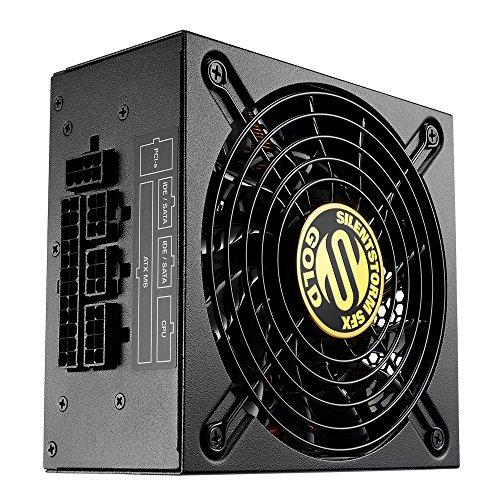 Sharkoon SilentStorm SFX Gold PC-Netzteil (500 Watt, SFX, Kabelmanagement)