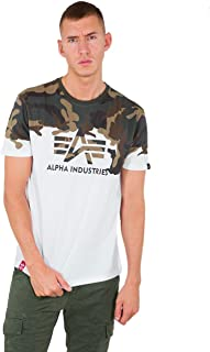 ALPHA INDUSTRIES Men's Lost Camo T T-Shirt